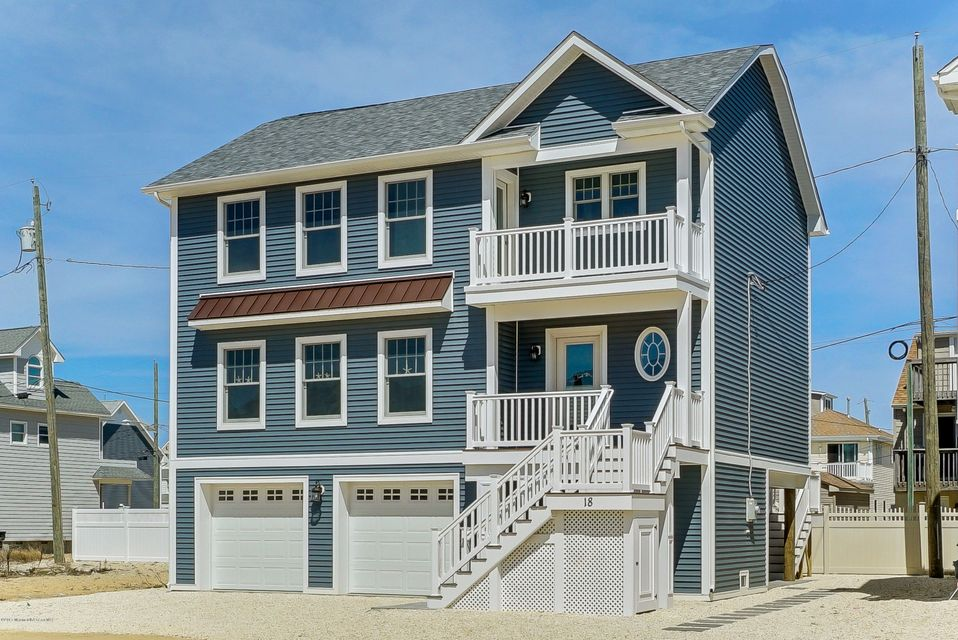 Single Family Home for Sale at 18 Beach Drive Ortley Beach, New Jersey 08751 United States