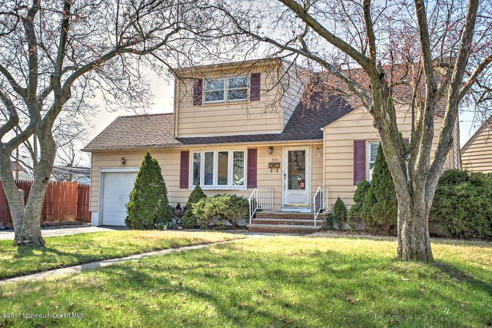 Single Family Home for Sale at 501 Beechwood Road Linden, New Jersey 07036 United States