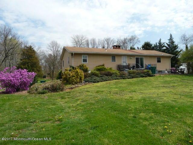 Casa Unifamiliar por un Venta en 255 Route 539 Upper Freehold, Nueva Jersey 08501 Estados Unidos