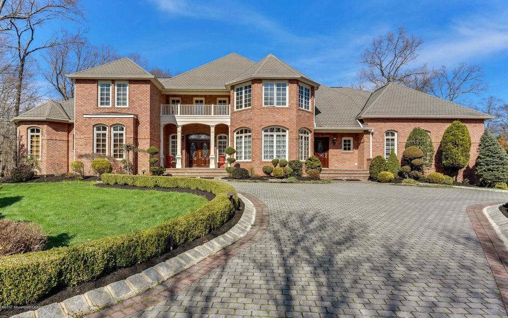 独户住宅 为 销售 在 8 Lucas Lane Millstone, 07726 美国