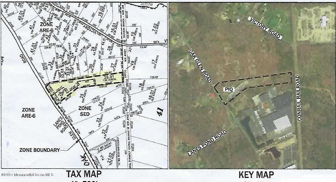 Terrain pour l Vente à 413 Oak Glen Road Howell, New Jersey 07731 États-Unis