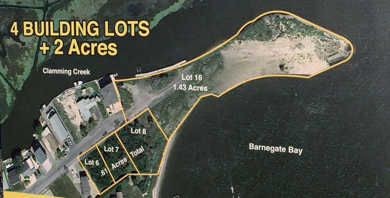Land for Sale at 199 Bay Drive Bayville, 08721 United States