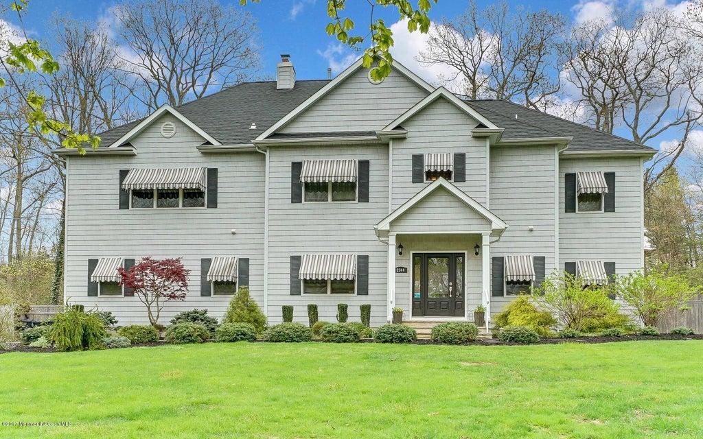 独户住宅 为 销售 在 2344 Ramshorn Drive Allenwood, 新泽西州 08720 美国