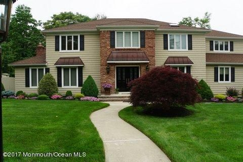 Single Family Home for Sale at 21 Arlene Drive West Long Branch, New Jersey 07764 United States
