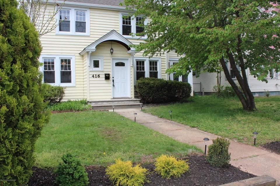 Casa Unifamiliar por un Venta en 416 Center Street Dunellen, Nueva Jersey 08812 Estados Unidos