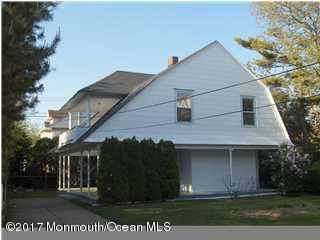 Casa Unifamiliar por un Alquiler en 111 Allen Avenue Allenhurst, Nueva Jersey 07711 Estados Unidos