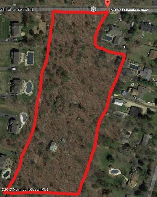 独户住宅 为 销售 在 734 Gail Chambers Road 杰克逊, 08527 美国