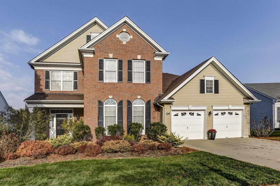 Photo of home for sale at 24 Julianne Court Court, Freehold NJ
