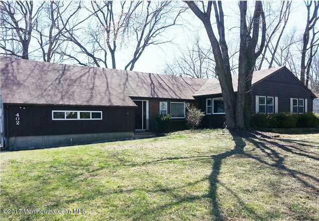 Casa Unifamiliar por un Alquiler en 402 Deal Road Asbury Park, Nueva Jersey 07712 Estados Unidos