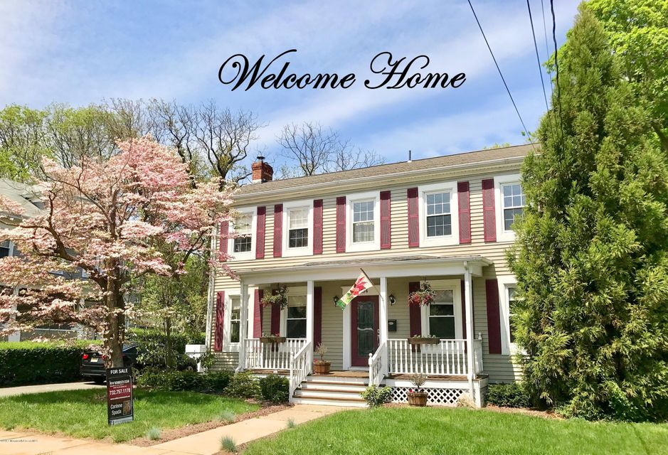 Single Family Home for Sale at 254 Mercer Street Hightstown, New Jersey 08520 United States