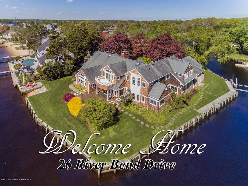Single Family Home for Sale at 26 River Bend Drive Toms River, New Jersey 08753 United States