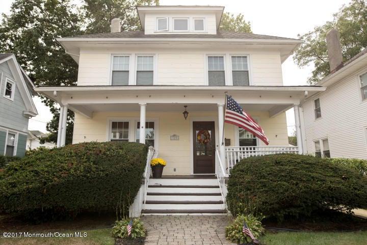 独户住宅 为 销售 在 308 Elberon Avenue Allenhurst, 新泽西州 07711 美国