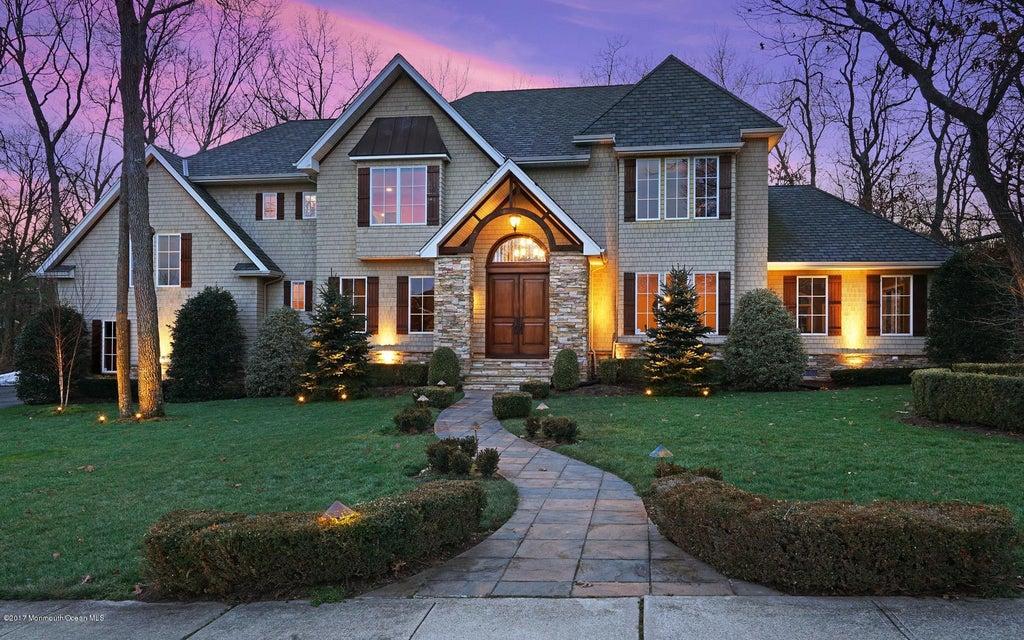 단독 가정 주택 용 매매 에 32 Brandywine Road 32 Brandywine Road Ocean Township, 뉴저지 07712 미국