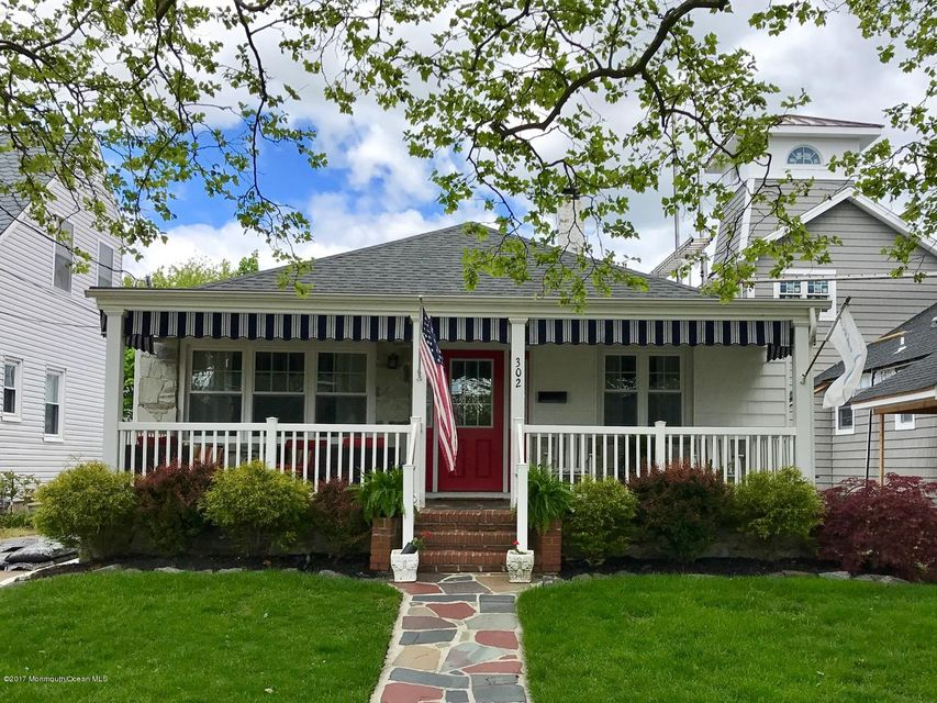 Single Family Home for Sale at 302 17th Avenue Lake Como, New Jersey 07719 United States