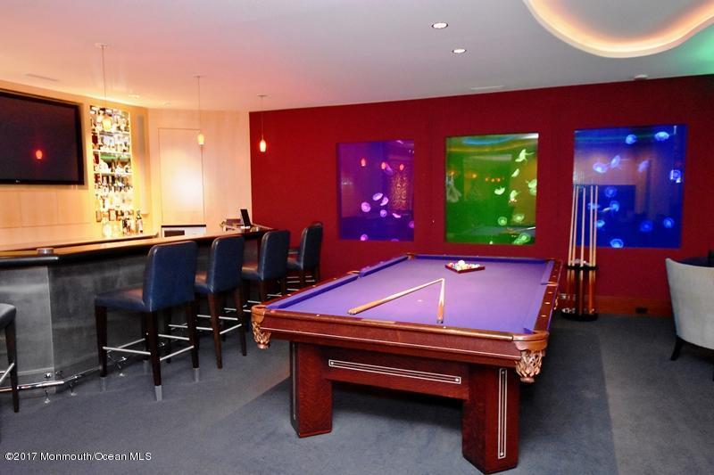 Lower Level Bar & Billiards Room