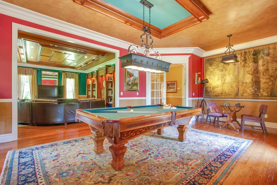 Billiards Room with attached Family Room