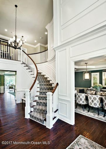 Foyer and dining