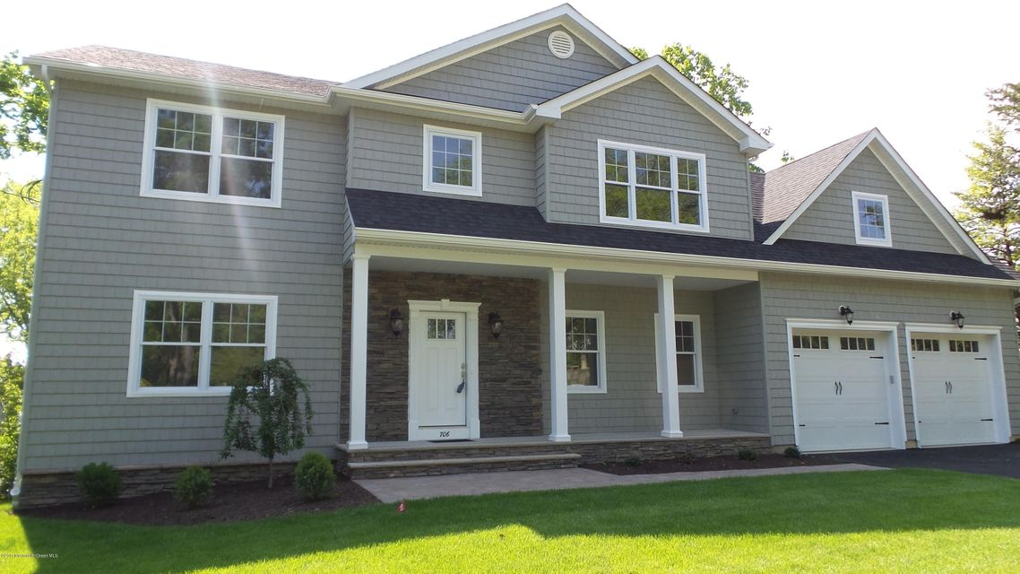 Single Family Home for Sale at 706 Schoolhouse Road Brielle, New Jersey 08730 United States