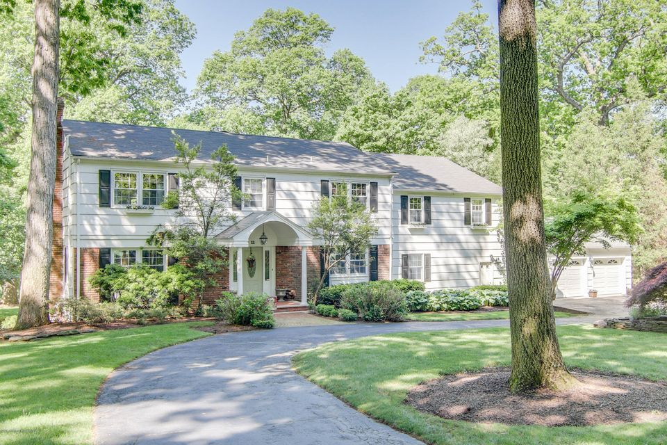 Single Family Home for Sale at 11 Popomora Drive 11 Popomora Drive Rumson, New Jersey 07760 United States