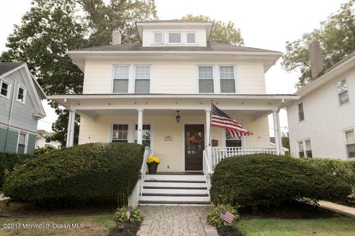 Casa Unifamiliar por un Alquiler en 308 Elberon Avenue Allenhurst, Nueva Jersey 07711 Estados Unidos