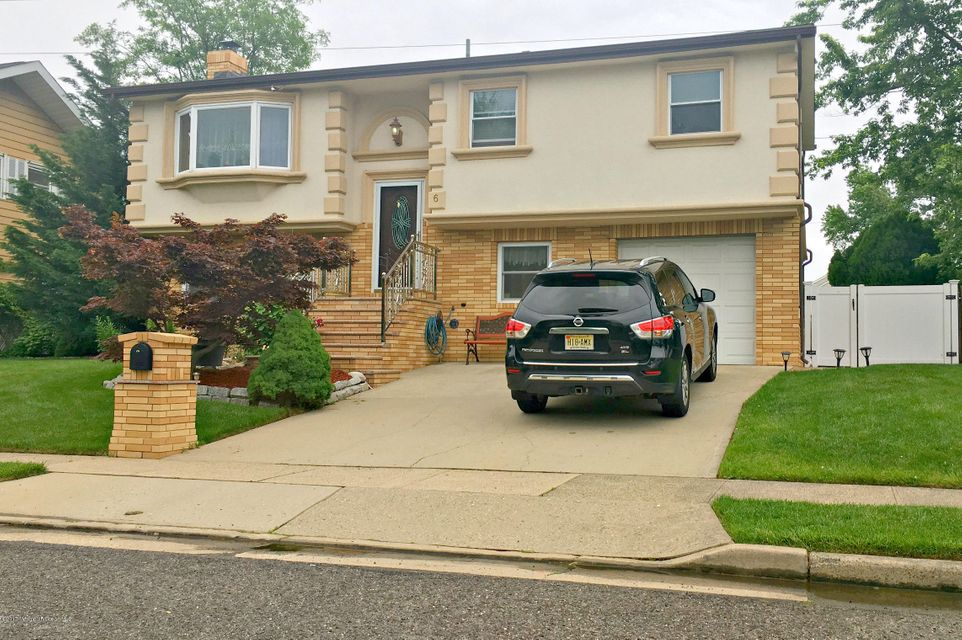 Single Family Home for Sale at 6 Schmitt Street Sayreville, New Jersey 08872 United States