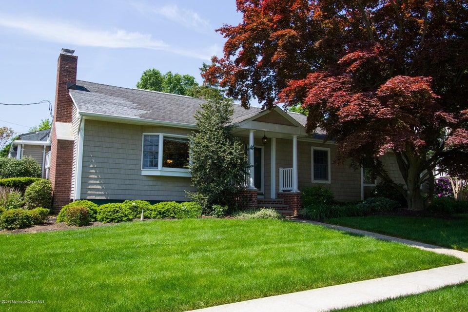 Casa Unifamiliar por un Alquiler en 10 Cross Street Little Silver, Nueva Jersey 07739 Estados Unidos