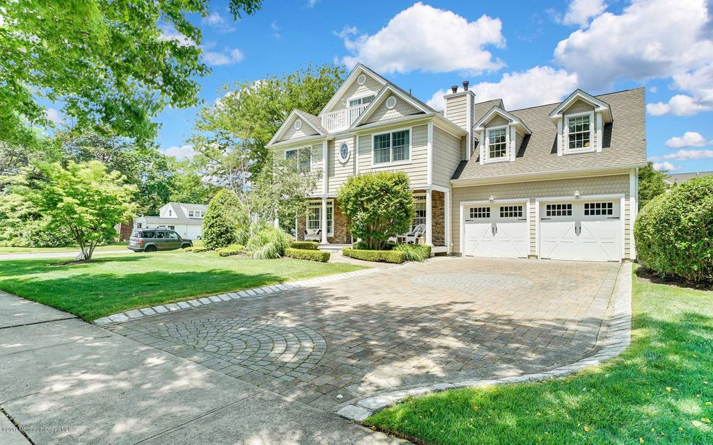 Single Family Home for Sale at 417 Washington Boulevard Sea Girt, New Jersey 08750 United States