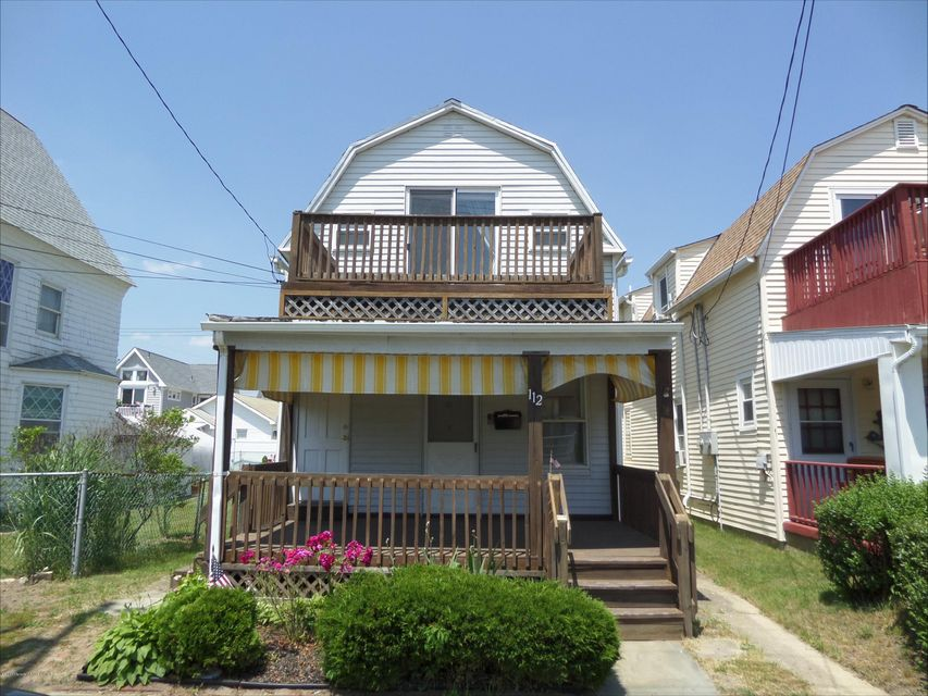 Single Family Home for Rent at 112 Park Place Avenue Bradley Beach, 07720 United States
