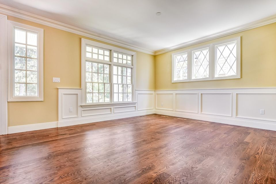 Formal Living with rich millwork