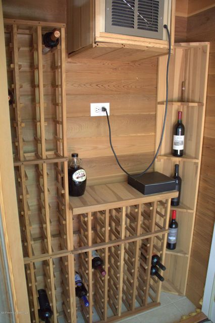 Temperature Controlled Wine Pantry