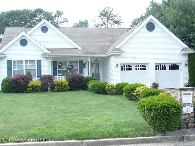 Single Family Home for Rent at 109 Trim Lane Manahawkin, New Jersey 08050 United States