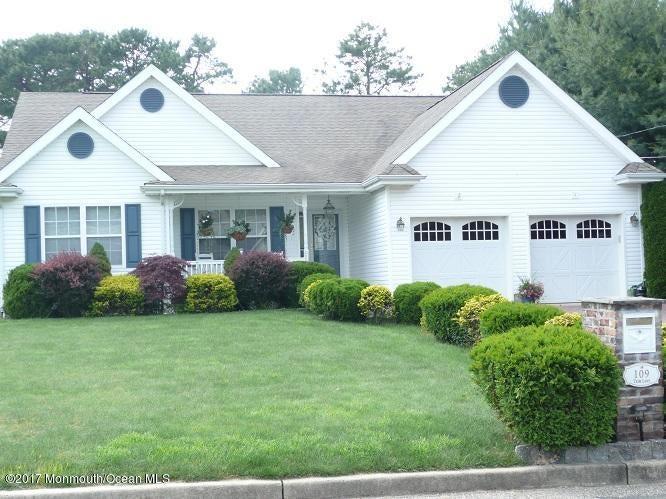 Maison unifamiliale pour l à louer à 109 Trim Lane Manahawkin, New Jersey 08050 États-Unis