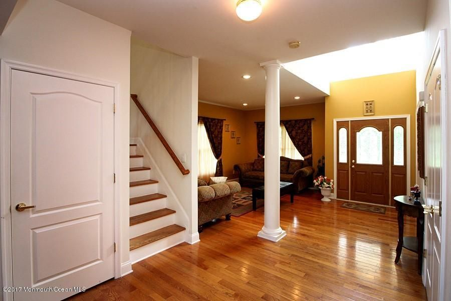 hardwood thruout most of home