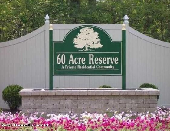 60 acres sign