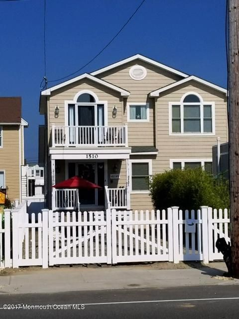 Single Family Home for Rent at 1510 Central Avenue Seaside Park, New Jersey 08752 United States