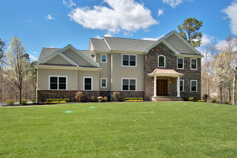 独户住宅 为 出租 在 3 Iroquois Court Colts Neck, 新泽西州 07722 美国