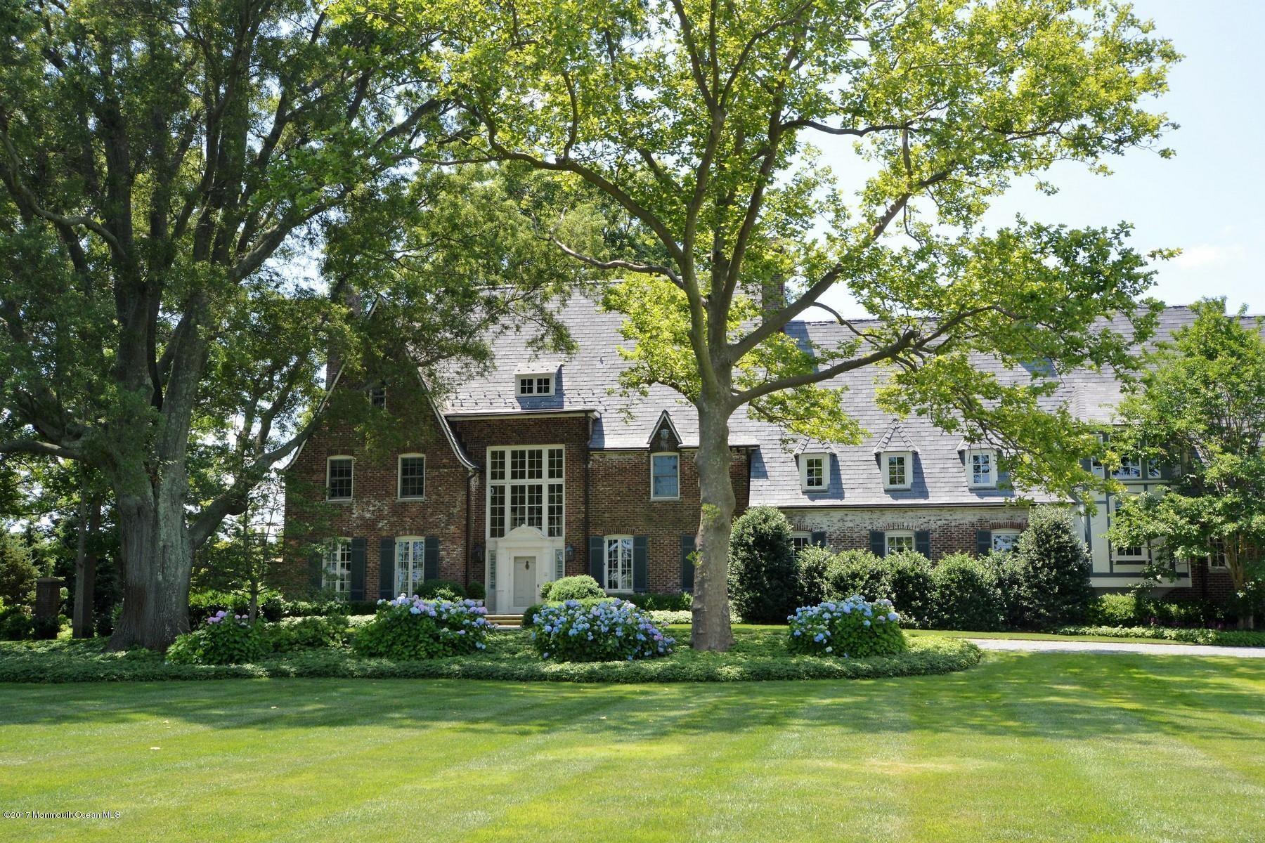 A Landmark Rumson Estate