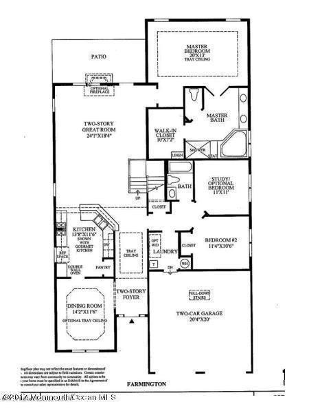 Farmington Floor Plan