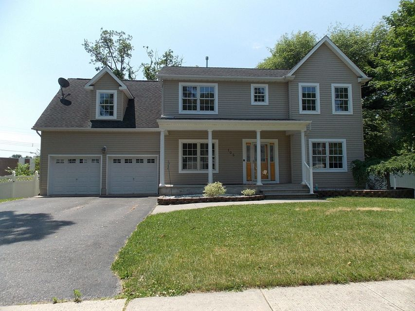 Single Family Home for Sale at 105 Woodland Avenue Neptune City, New Jersey 07753 United States