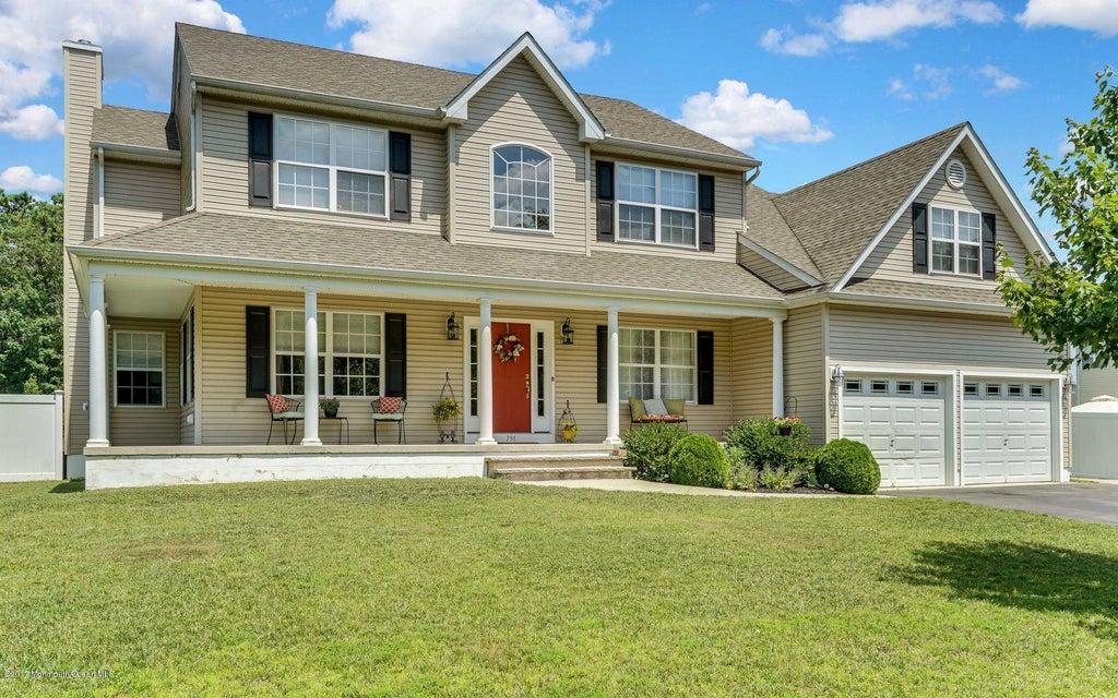 Single Family Home for Sale at 751 Grove Street 751 Grove Street Lanoka Harbor, New Jersey 08734 United States