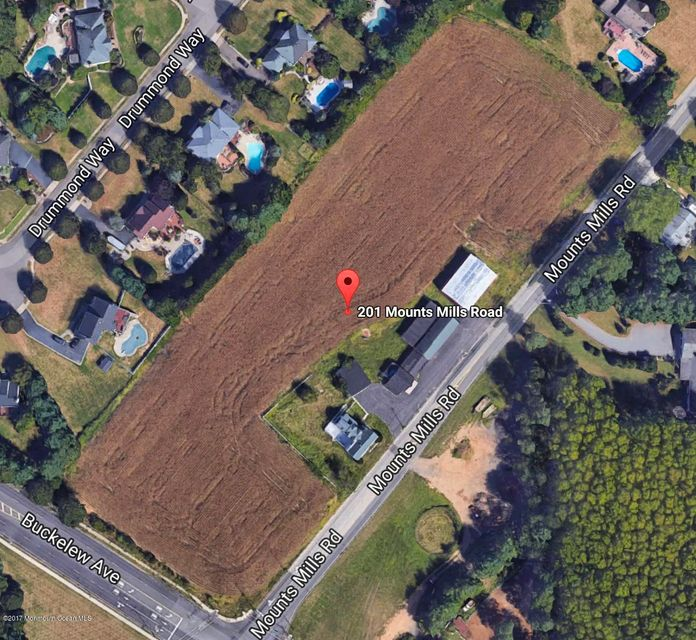 Land for Sale at 201 Mounts Mills Road Monroe, New Jersey 08831 United States