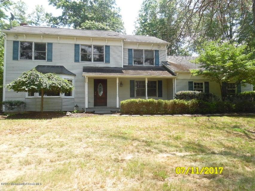 Casa Unifamiliar por un Venta en 155 Davis Station Road Upper Freehold, Nueva Jersey 08501 Estados Unidos