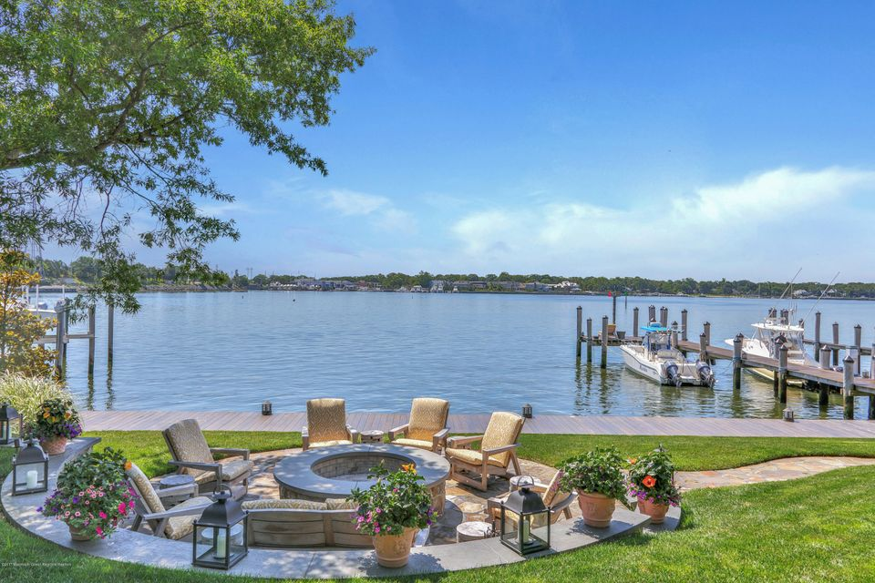 Boat Docks and Fire Pit