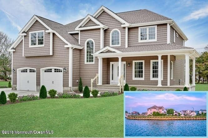Maison unifamiliale pour l Vente à 1313 Wickford Lane 1313 Wickford Lane Lanoka Harbor, New Jersey 08734 États-Unis