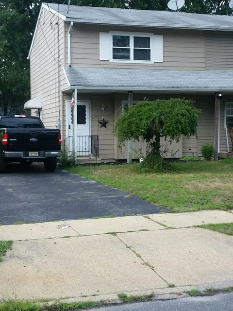 Single Family Home for Sale at 815 Cedar Street Lakehurst, New Jersey 08733 United States