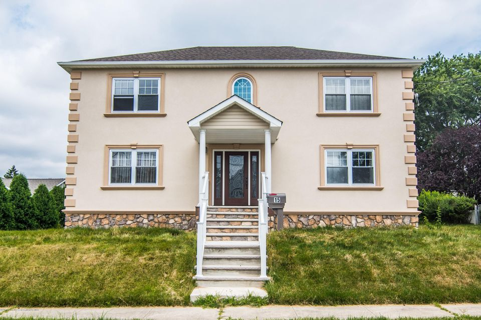 Single Family Home for Sale at 15 3rd Street Sayreville, New Jersey 08872 United States