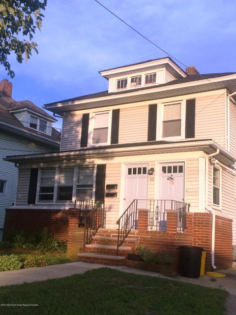 Single Family Home for Rent at 40 Mclaren Street Red Bank, New Jersey 07701 United States