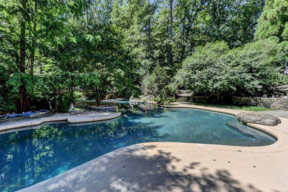 In Ground Pool With Lazy River