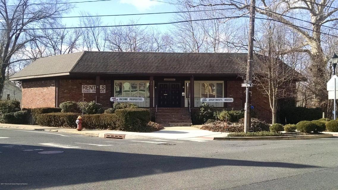 Commercial pour l Vente à 40 Main Street New Egypt, New Jersey 08533 États-Unis