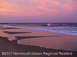 sunset beach shot